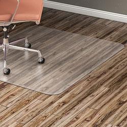 Lorell Hard Floor Chairmat, 36 inx48 in, Clear