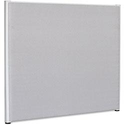 Lorell Fabric Panel, 60 in x 72 in, Gray