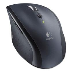 Logitech M705 Marathon Wireless Laser Mouse, 2.4 GHz Frequency/30 ft Wireless Range, Right Hand Use, Black