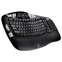 Logitech K350 Wireless Keyboard, Black
