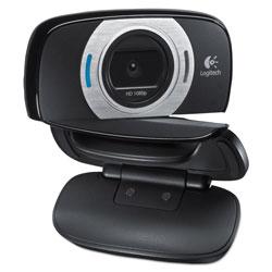 Logitech C615 HD Webcam, 1920 pixels x 1080 pixels, 2 Mpixels, Black