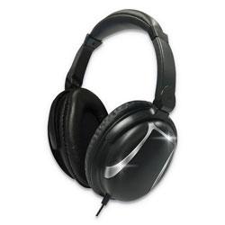 Maxell Bass 13 Headphone with Mic, Black