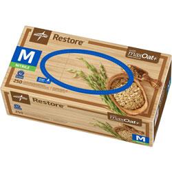 Medline Nitrile Exam Gloves w/Oatmeal, Medium, 10/BX, OFWE