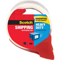 3M Packing Tape w/Dispenser, Heavy-Duty, 1.88 in x 54.6Yds