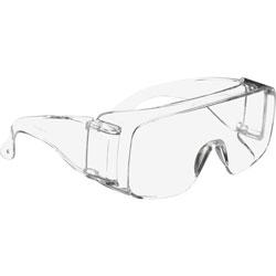 3M Tour-Guard V Protective Eyewear, Clear Polycarbonate Frame/Lens, 100/Carton