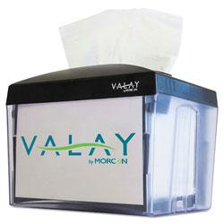 Morcon Paper Valay Table Top Napkin Dispenser, 6.25 x 8 x 6.5, Black