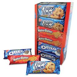 Nabisco Variety Pack Cookies, Assorted, 1.75 oz Packs, 12 Packs/Box