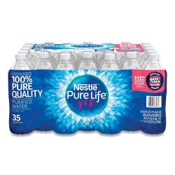 Nestle Pure Life Purified Water, 16.9 oz Bottle, 35 Bottles/Carton