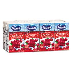 Ocean Spray Aseptic Juice Boxes, Cranberry, 4.2oz, 40/Carton