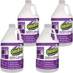 OdoBan® Odor Eliminator, Concentrate, Lavender, 1 Gal, 4/CT