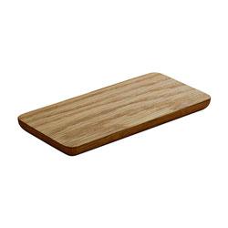 Bauscher Hepp Playground Wooden Serving Board, 12.6x4.3 in, Oak