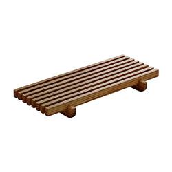 Bauscher Hepp Playground Ananti Rectangular Crumb Grid, 7.1x3.5 in, Oak