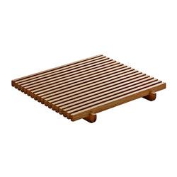 Bauscher Hepp Playground Ananti Rectangular Crumb Grid, 7.1x7.1 in, Oak