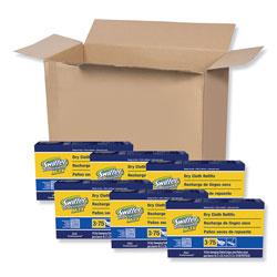 Swiffer Sweeper Max/XL Dry Cloth Refills, White, 16 Per Box, 6/Case, 96 Total