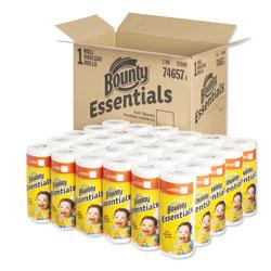 Bounty Essentials Paper Towels, 40 Sheets/Roll, 30 Rolls/Carton