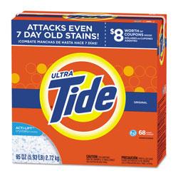 Tide Powder Laundry Detergent, High Efficiency Compatible, Original Scent, 95 oz. Box (68 loads), 3/Case, 204 Loads Total