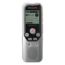 Philips Digital Voice Tracer 1250 Recorder, 8 GB, Black/Silver