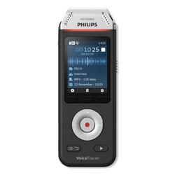 Philips Voice Tracer DVT2810 Digital Recorder, 8 GB, Black
