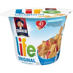 Quaker Foods Life Original Multigrain Cereal, 2.29oz., 12/CT, Multi