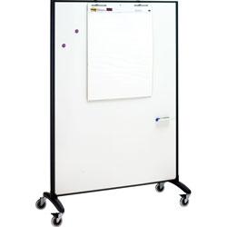 Quartet® Motion Marker & Bulletin Room Divider, 6 ft. x 4 ft.