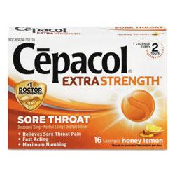 Cepacol® Extra Strength Sore Throat Lozenges, Honey Lemon, 16 Lozenges