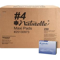Rochester Midland Maxi Pads, Naturelle, Regular, Vendor Refills, WE