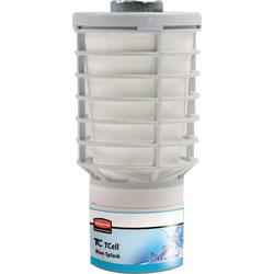 Rubbermaid TCell Microtrans Odor Neutralizer Refill, Blue Splash, 1.62oz