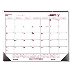 Rediform Monthly Deskpad Calendar, Chipboard, 22 x 17, 2021