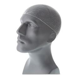 Royal   Lightweight Latex-Free Hairnets, White, 28 in., Nylon, 144/Box
