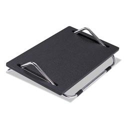 Safco Ergo-Comfort Adjustable Footrest, 18.5w x 11.5d x 5h, Black