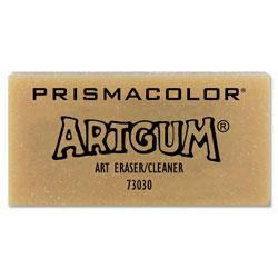 Sanford ARTGUM Eraser, Rectangular, Large, Off White, Kneaded Rubber, Dozen