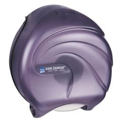 San Jamar Single JBT Tissue Dispenser, Oceans, 10 1/4 x 5 5/8 x 12, Black Pearl