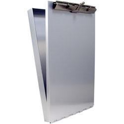 Saunders 6 in x 10 in Clipboard/Citation Holder, 1 in Storage Cap, Aluminum