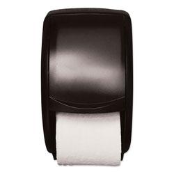 Tork Twin Standard Roll Bath Tissue Dispenser, Plastic, 7.5 x 7 x 12.75, Smoke