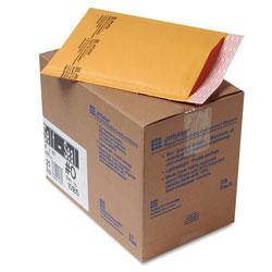 Paper Jiffylite® Jiffylite Self-Seal Bubble Mailer, #0, Barrier Bubble Lining, Self-Adhesive Closure, 6 x 10, Golden Brown Kraft, 25/Carton