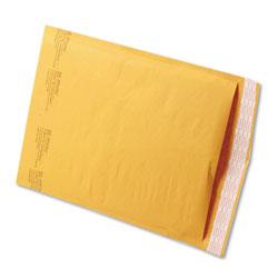 Paper Jiffylite® Jiffylite Self-Seal Bubble Mailer, #4, Barrier Bubble Lining, Self-Adhesive Closure, 9.5 x 14.5, Golden Kraft, 100/Carton