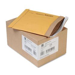 Sealed Air Jiffy Padded Mailer, #2, Paper Lining, Self-Adhesive Closure, 8.5 x 12, Natural Kraft, 25/Carton