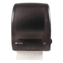 San Jamar Simplicity Mechanical Roll Towel Dispenser, 15.25 in x 13 in x 10.25 in, Black