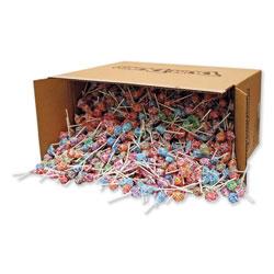 Spangler Candy Dum-Dum-Pops, Assorted Flavors, Individually Wrapped, Bulk 30 lb Carton