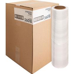 """Sparco Stretch Wrap Film, 18""""x1500' Roll, Heavyweight, Clear"""