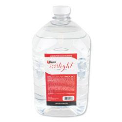 Sterno Soft Light Liquid Wax Lamp Oil, Clear, Gallon, 4 per Carton