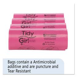 Stout Feminine Hygiene Sanitary Disposal Bags, 4 in x 10 in, Natural, 600/Carton