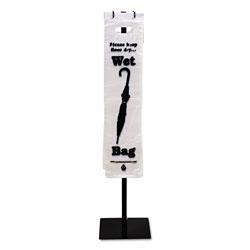 Tatco Wet Umbrella Bags, 7 in x 31 in, Clear, 1,000/Box