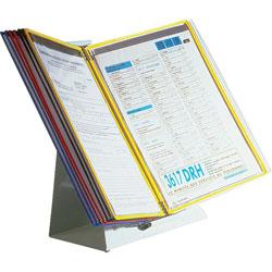 Tarifold Desktop Reference Starter Set with Ten Display Pockets, 20 Sheet Capacity