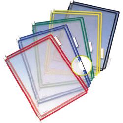 Tarifold Pivoting Display Pockets for Wall Unit & Desktop Reference Starter Sets, Pack of 10