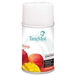 Timemist Premium Metered Air Freshener Refill, Mango, 6.6 oz Aerosol, 12/Carton