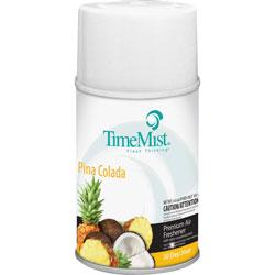 Timemist Aerosol Fragrance, f/Metered Dispenser, Pina Colada