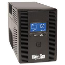 Tripp Lite SmartPro LCD Line-Interactive UPS AVR Tower, LCD, USB, 10 Outlets, 1500 VA, 650J