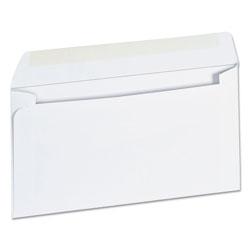 Universal Business Envelope, #6 3/4, Square Flap, Gummed Closure, 3.63 x 6.5, White, 500/Box