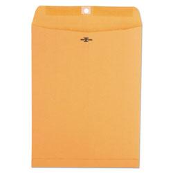 Universal Office Products Kraft Clasp Envelope, #93, Square Flap, Clasp/Gummed Closure, 9.5 x 12.5, Brown Kraft, 100/Box